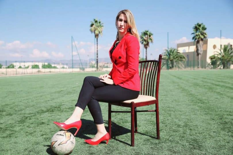 Bouchra Karboubi la prima donna ad arbitrare in Marocco